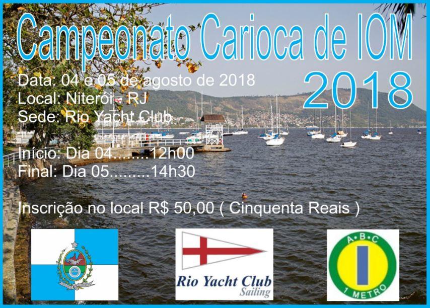 Campeonato Carioca de IOM 2018