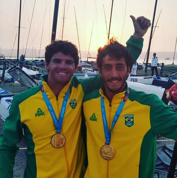 Ouro Pan Lima Marco e Martine Grael (9)