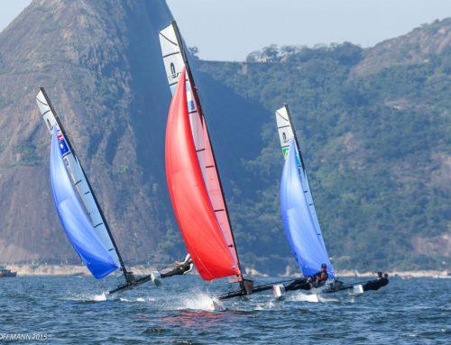 Isabel Swan garante vaga e o Sailing terá 3 tripulações disputando as Olimpíadas.