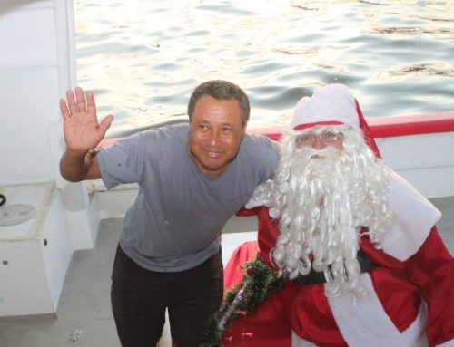 Fotos da Chegada do Papai Noel no Sailing 2018