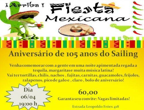 Aniversário de 105 anos RYC – Festa Mexicana – 06/04
